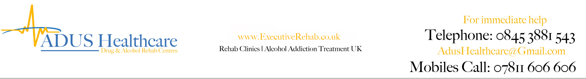 Executive Rehab | The top rehab drug & alcohol rehab centres